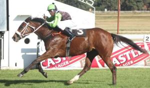 Diversify with Apprentice Takawira won the 2000m MR 65 Handicap.