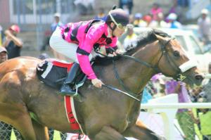 Nimble Dancer with Brendon McNaughton up