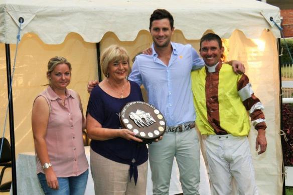 Champion Fillies Stakes presentation