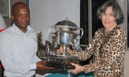 Morgan Nyamagete Paul Muscutt Trophy